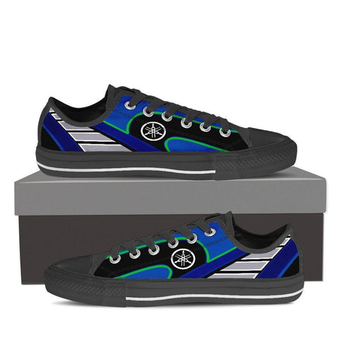 Men's Movistar Yamaha Low Tops - Black