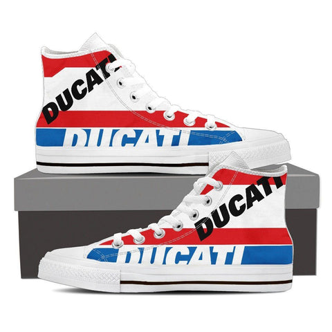 Men's Ducati Pramac MotoGP High Tops - White