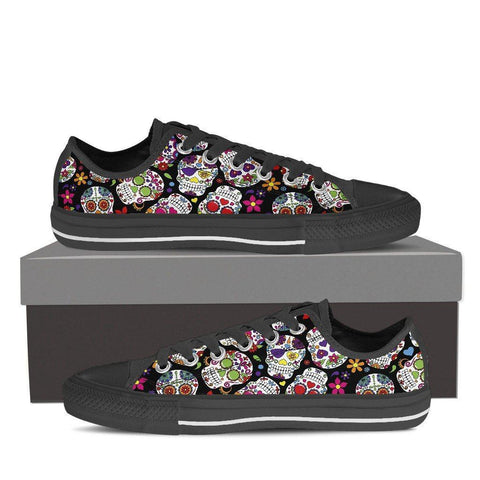 Sugar Skull Women's Low Top Shoe