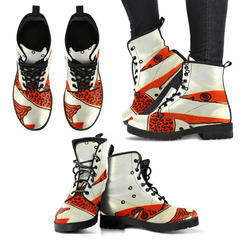 Women's Red Fish Boots