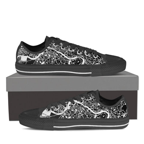 Men's London Map Low Top