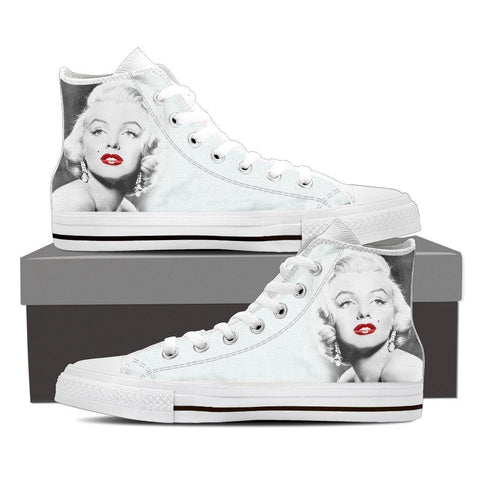 Women's Marilyn Monroe Lips High Tops