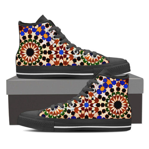 Boho Mosaic Women's High Tops