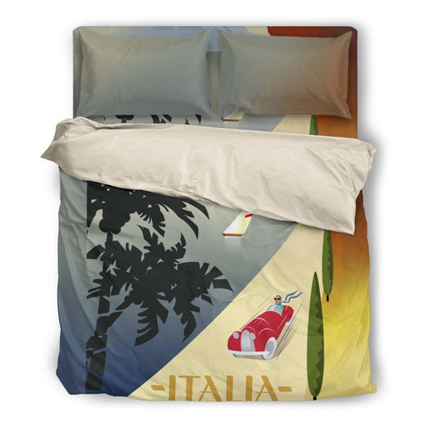 Italia Travel Duvet Set