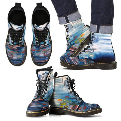 Abstract Sky Men's Boot