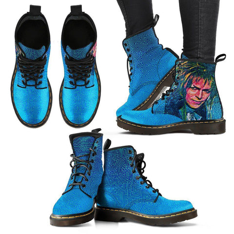 Women's Bowie Labyrinth Leather Boots