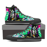 Women's Jimi Hendrix High Tops - Green