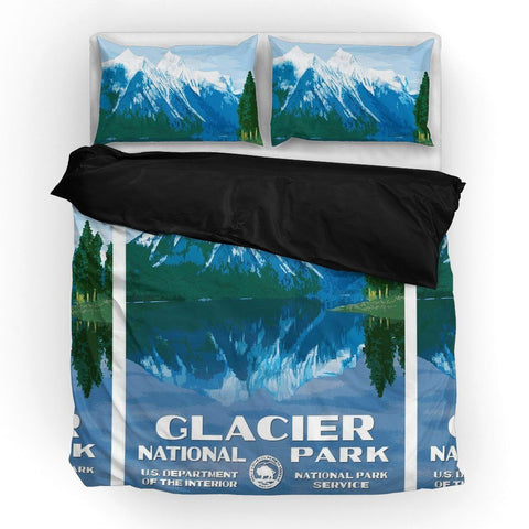 Glacier National Park Duvet Set