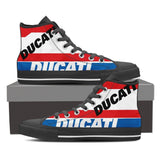 Men's Ducati Pramac MotoGP High Tops - Black