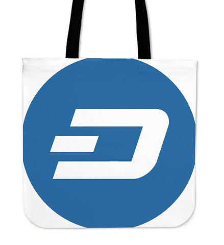 Cryptocurrency Dash Tote Bag | HODL On For Dear Life