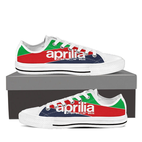 Men's Aprilia Racing Low Tops - White