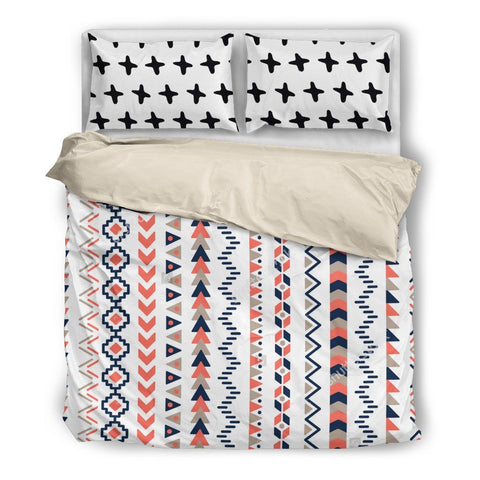 Printed Stripes Duvet Set