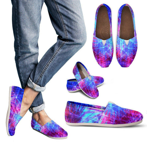 Women's Ultraviolet Abstract Casual Shoe