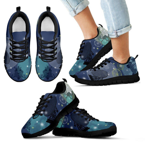 Space Themed Kid's Athletic Shoes