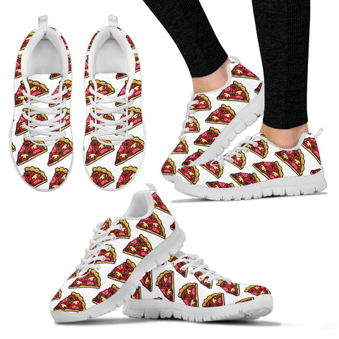 Women's Sneakers - Pizza