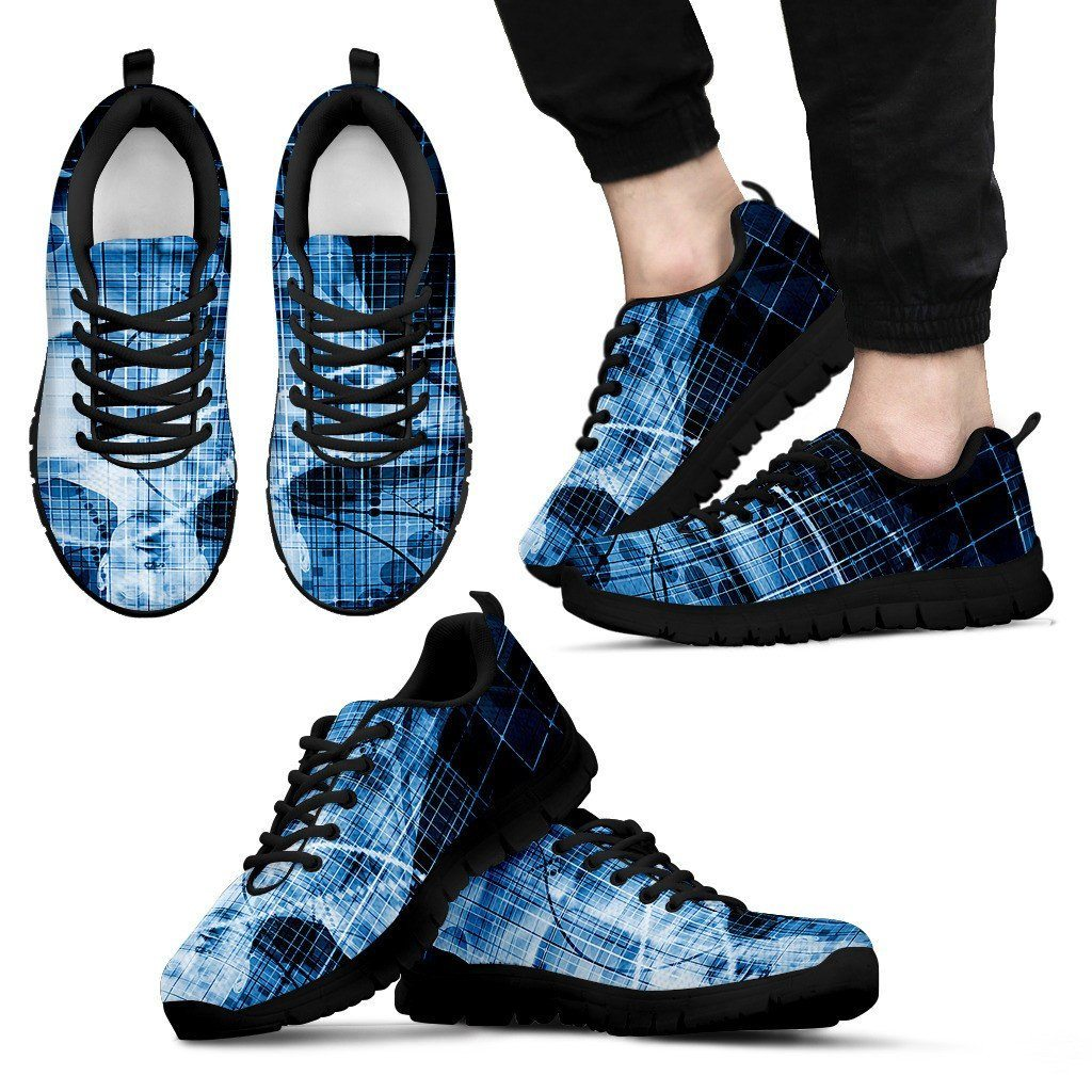 Men's Blue Medical Imaging Sneaker