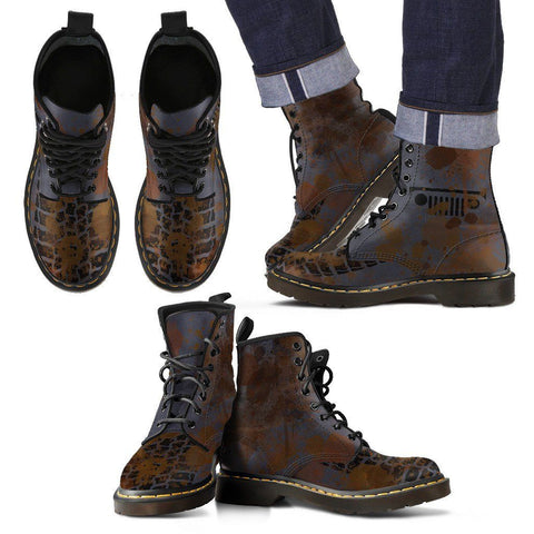 Men's Off-Road Gray Boots