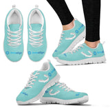 Women's Teal Invisalign® Athletic Shoes