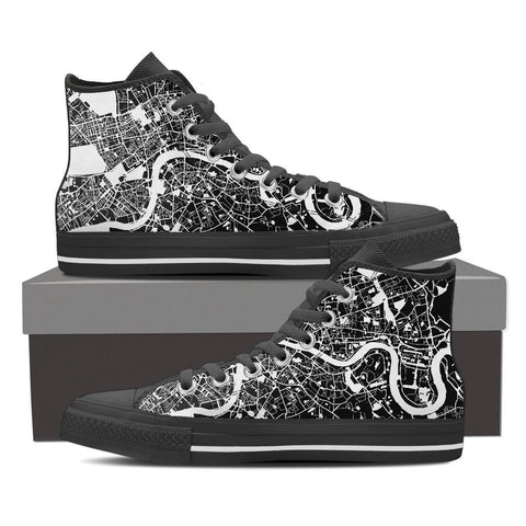 Men's London Map High Top
