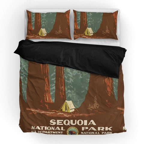 Sequoia National Park Duvet Set