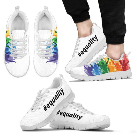 Men's #equality Custom Athletic Shoes