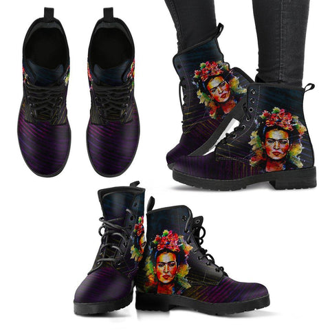 Women's Frida Kahlo Dark Boots