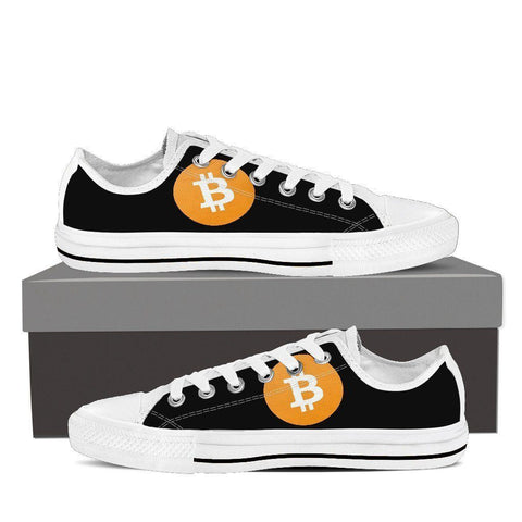 Cryptocurrency Bitcoin Cash Women's Low Tops | HODL On For Dear Life