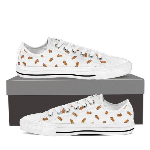 Dancing Hot Dog Women's Low Top