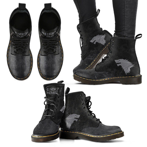 Women's The North Wolf Leather Boots