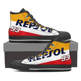 Men's Repsol Honda High Tops - Black