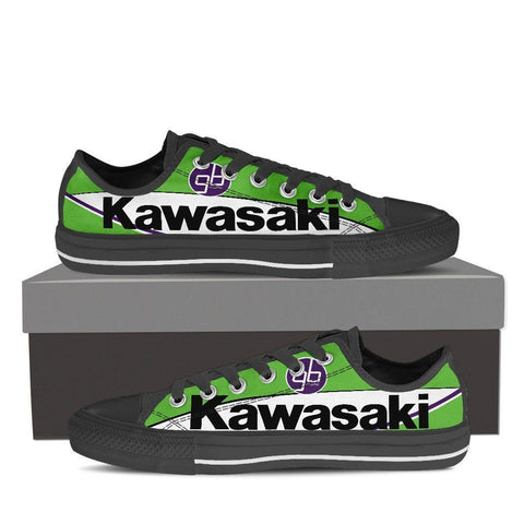 Men's Kawasaki MotoGP Low Tops - Black