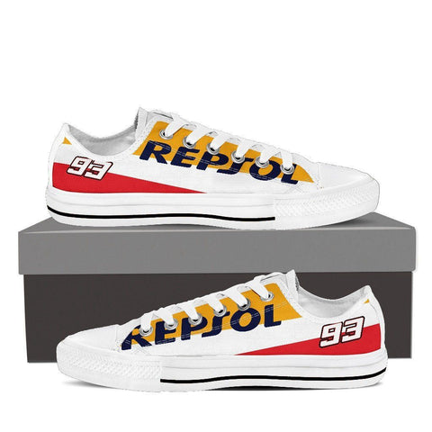 Men's Repsol Honda Low Tops - White