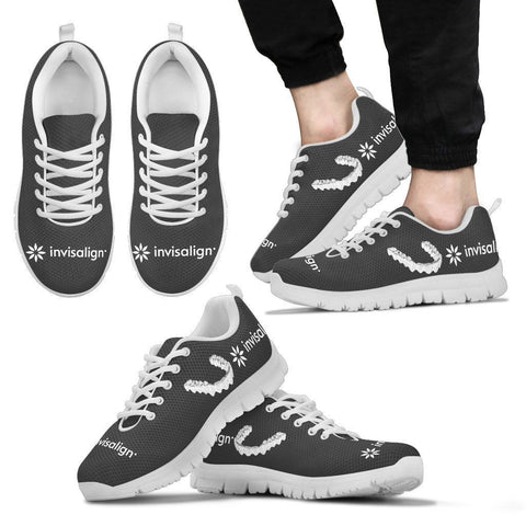 Men's Dark Grey Invisalign® Athletic Shoes