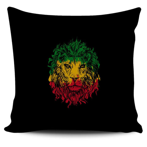 Rasta Lion Pillow Cover