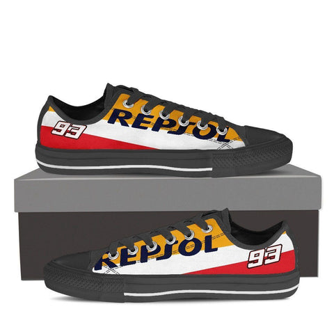 Men's Repsol Honda Low Tops - Black