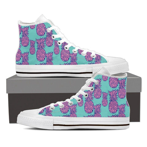 Women's Psychedelic Pineapple High Top