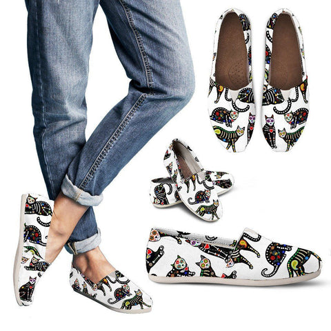 Sugar Cat Women's Custom Casual Shoes