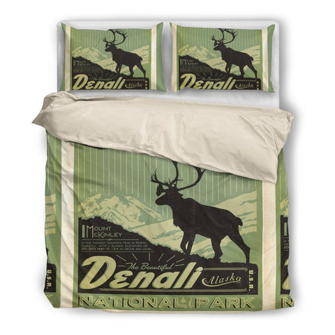 Denali National Park Duvet Set