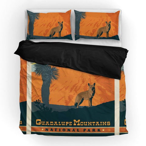Guadalupe National Park Duvet Set