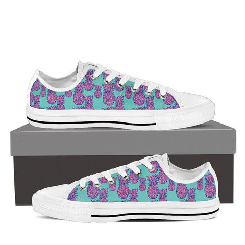 Men's Psychedelic Pineapple Low Top