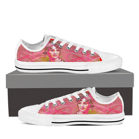 Women's Jane Austen Pink Low Tops