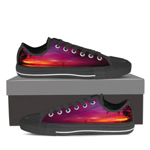 Paradise Sunset Women's Low Top