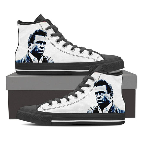 Women's Johnny Cash High Tops - White