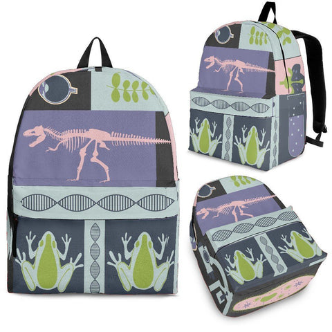 Science Patchwork Backpack