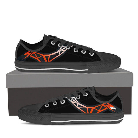 Men's KTM Inspired Low Tops (black)