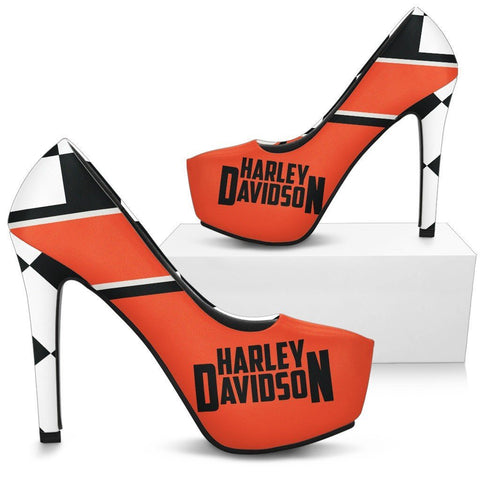 HD Motorcycle Women's High Heels