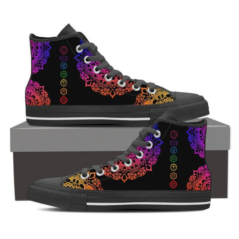 Rainbow Chakras Women's High Tops
