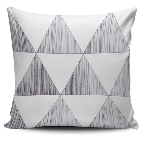 Sketched Triangles Pillow Cover