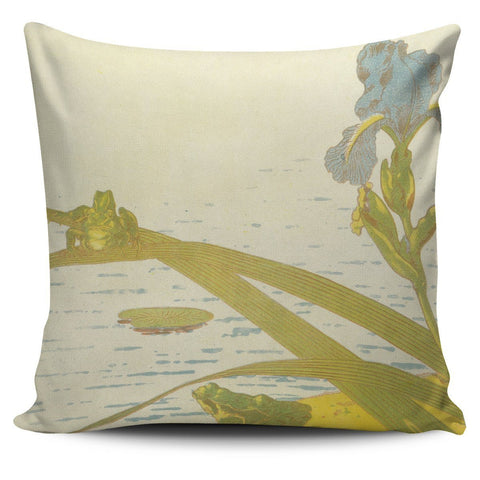 Grenouilles Pillow Case