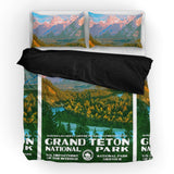 Grand Teton National Park Duvet Set